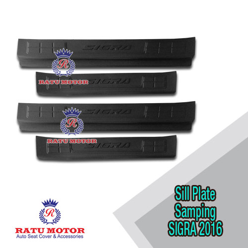 Sill Plate Samping SIGRA 2016 Plastik Hitam