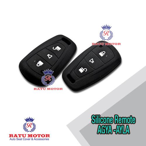 Silicone Remote AGYA , AYLA 3 Tombol