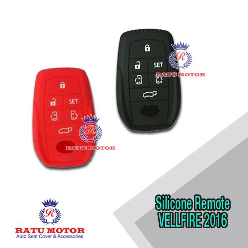 Silicone Remote ALPHARD , VELLFIRE 2016 6 Tombol