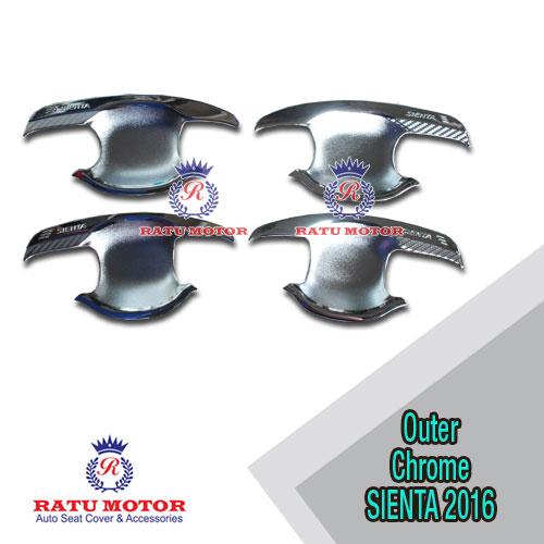 Outer Handle Toyota All New SIENTA 2016 Model Elegant Chrome