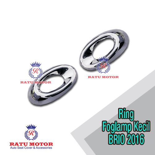 Ring Foglamp Kecil BRIO 2016-2017 Chrome