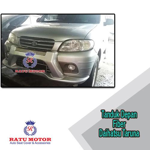 Tanduk Daihatsu TARUNA Lama C-Series Fiber Silver (Tdk cocok utk F-Series)