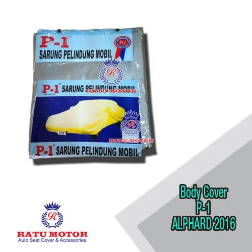 Body Cover P1 ALPHARD 2016-2019 (NOT For White Car)