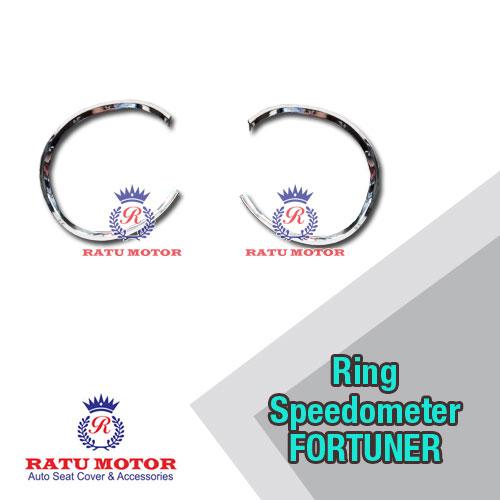 Ring Speedometer New FORTUNER 2008-2011 Chrome (2 Pcs Kanan Kiri)