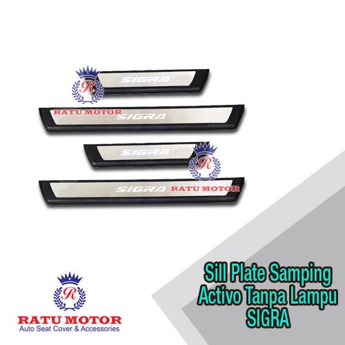 Sill Plate Samping SIGRA 2016 Model ACTIVO + LED