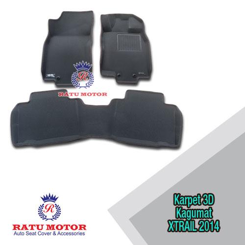 Karpet 3D KAGUMAT XTRAIL 2014-2017 Bahan Polyester MAXpider