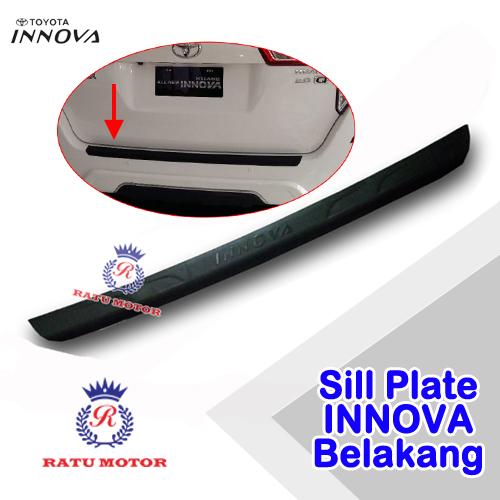 Sill Plate Belakang INNOVA 2005-2014 Plastik Hitam