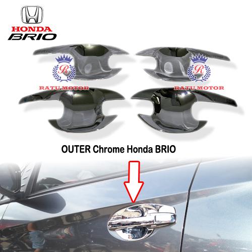 OUTER Handle Honda BRIO 2013-2017 Chrome