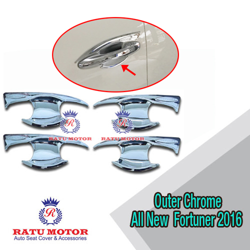 Outer Handle All New FORTUNER 2016 Model Elegant Chrome