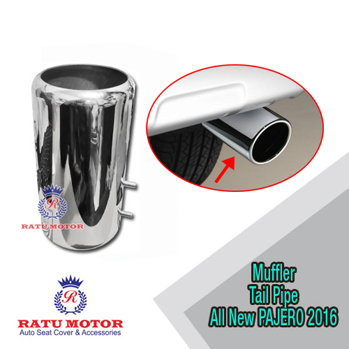 Muffler Tail Pipe All New Fortuner 2016 Stainless