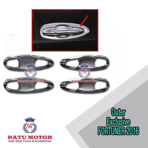 Outer Handle All New FORTUNER 2016 Model Exclusive Chrome