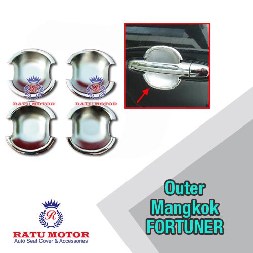 Outer Handle Toyota FORTUNER 2005-2015 Model Mangkok Chrome
