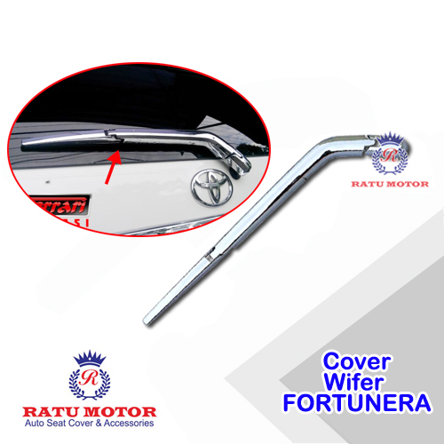Cover Wiper Belakang FORTUNER 2005-2015 Chrome