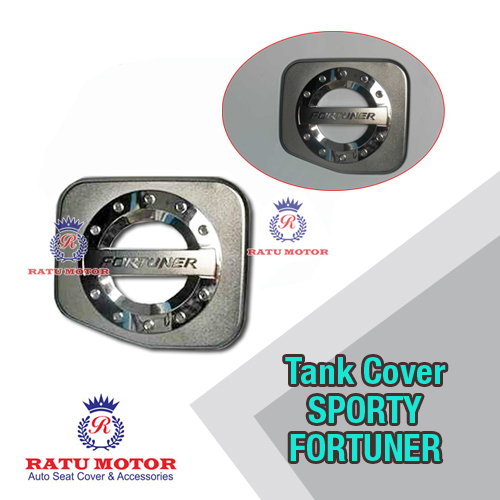 Tank Cover FORTUNER 2005-2015 Model Sporty Chrome