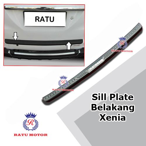 Sill Plate Belakang All New XENIA 2012-2015 Plastik Hitam