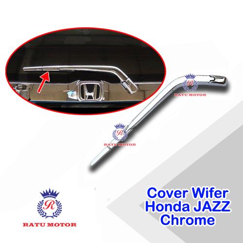Cover Wiper Belakang All New JAZZ 2014-2018 Chrome