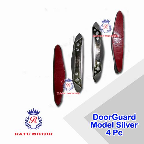 Doorguard Model Silver Chrome (4 Pcs)