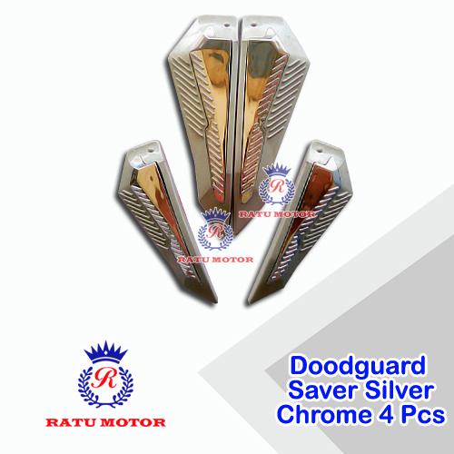 Doordguard SAVER Silver Chrome Korea (4 Pcs)