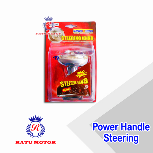 Power Handle Steering Silver Chrome