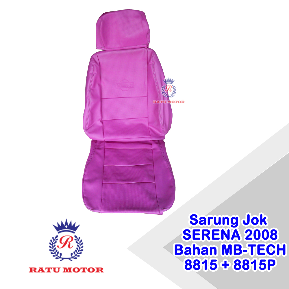Sarung Jok SERENA 2008-2014 Bahan MB-TECH Superior 8815+8815P (Purple) Lengkap 1 set