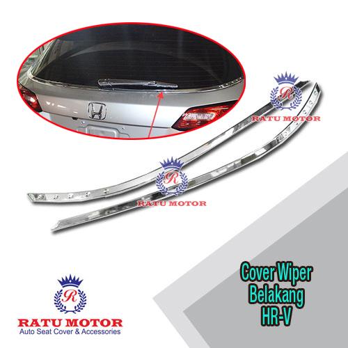 List Kaca Belakang Honda HRV 2015-2018 Chrome
