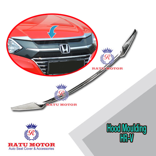 Hood Moulding Honda HRV 2015-2018 Chrome