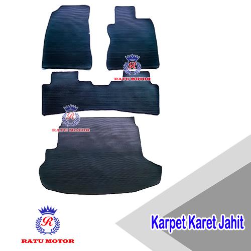 Karpet Karet Jahit XTRAIL 2008-2012 Hitam