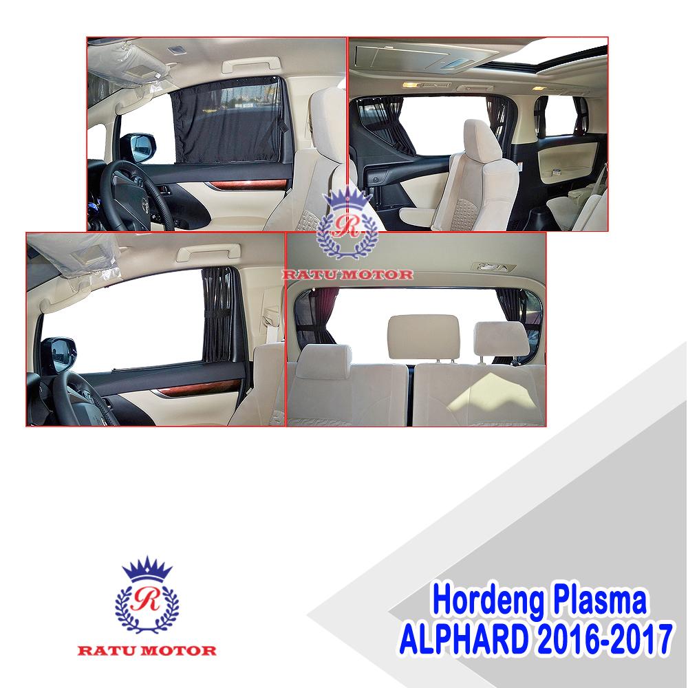 Hordeng Plasma ALPHARD / VELLFIRE 2016-2020 ATPM Astra  (Rel Tebal & Kokoh)
