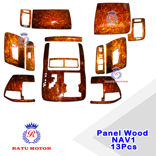 Panel Wood Toyota NAV1 2012-2016 (13 Pcs)