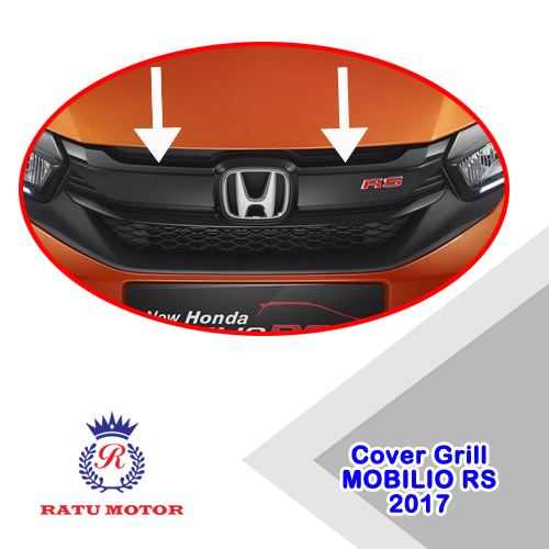 Cover Grill Depan MOBILIO 2017 RS Chrome