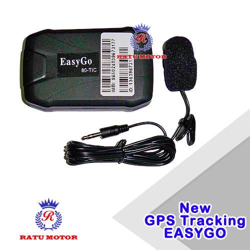 GPS Tracker EASYGO T1-C Pelacak Posisi Mobil + Voice Monitoring (Free Data Gprs 1 Thn)