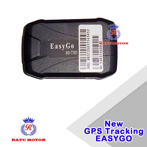 GPS Tracker EASYGO T1-D Pelacak Posisi Mobil (Free Data Gprs 1 Thn)