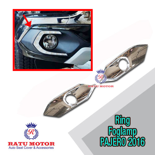 Ring Foglamp All New PAJERO SPORT 2016-2018 Chrome