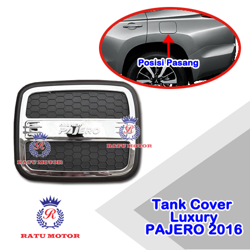 Tank Cover All New PAJERO SPORT 2016-2018 Model Luxury