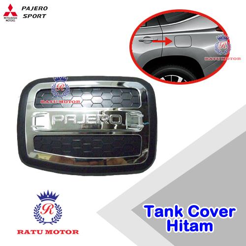 Tank Cover Luxury PAJERO SPORT 2007-2015  Hitam