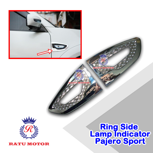 Ring Side Lamp PAJERO Sport 2007-2015 Chrome