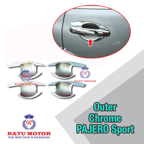 Outer Handle Mitsubishi PAJERO Sport 2007-2014 Chrome