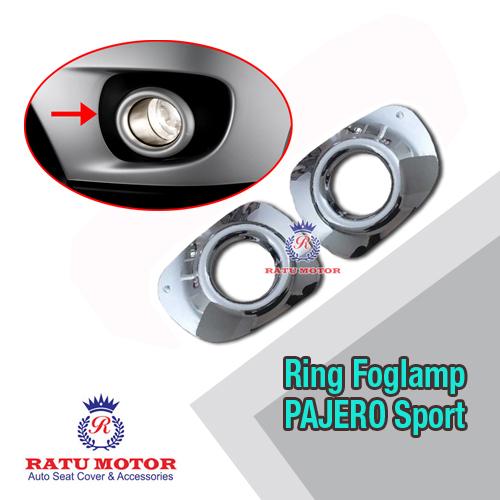 Ring Foglamp PAJERO Sport 2010-2013 Besar Chrome