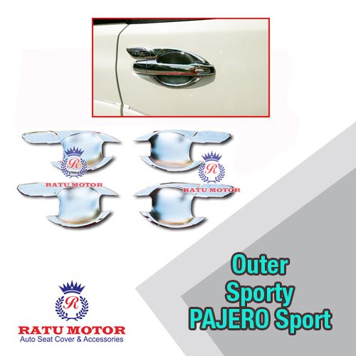 Outer Handle Mitsubishi PAJERO Sport 2007-2014 Model Sporty Chrome