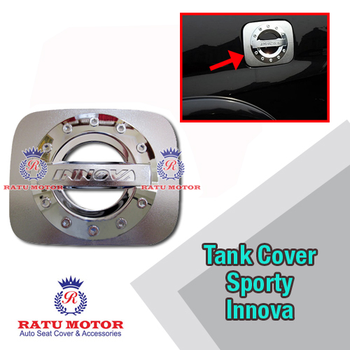 Tank Cover INNOVA 2005-2015 All Varian Model Sporty