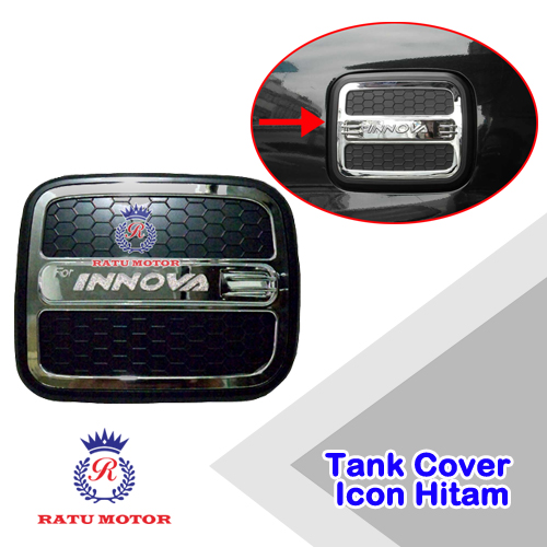 Tank Cover INNOVA 2005-2014 Model Luxury Hitam