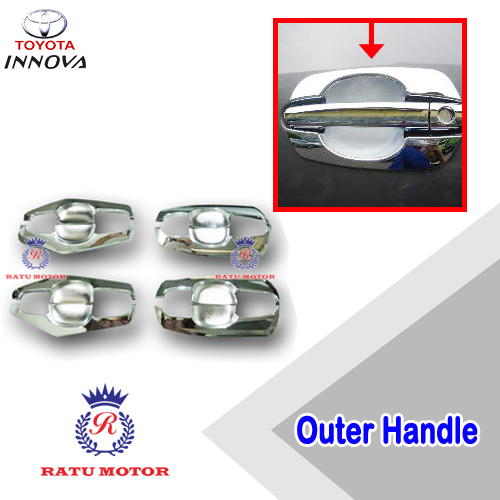 Outer Handle INNOVA 2005-2014 All Varian Model Old Chrome