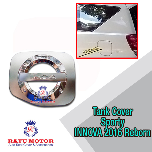 Tank Cover All New INNOVA 2016-2018 Reborn Model Sporty
