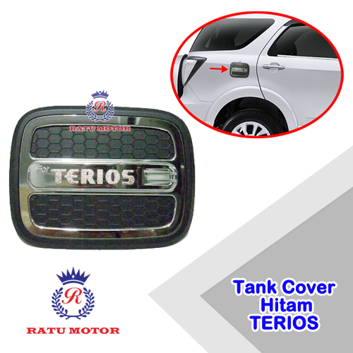 Tank Cover Luxury TERIOS 2006-2017 Hitam