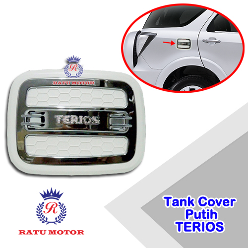Tank Cover Luxury TERIOS 2006-2017 Putih