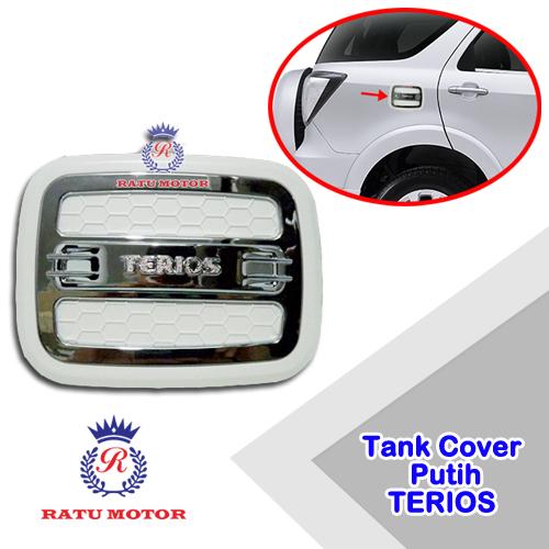 Tank Cover Luxury TERIOS 2006-2017 Putih