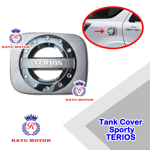 Tank Cover Sporty TERIOS 2006-2017 Chrome