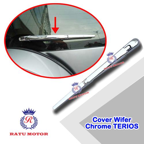 Cover Wiper Belakang TERIOS 2006-2017 Chrome