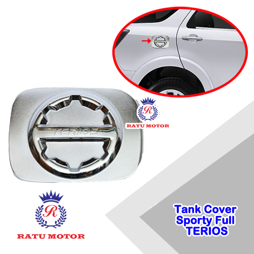 Tank Cover New TERIOS 2015-2016 Model Sporty Full Chrome
