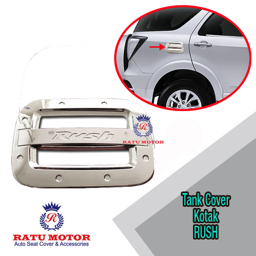 Tank Cover New RUSH 2006-2016 Model Kotak Chrome